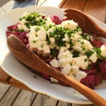 Rote Rüben-Schafskäse-Salat