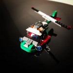 lego helicopter chopper