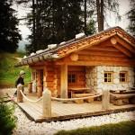 Honey, I shrinked the alpine cabin.