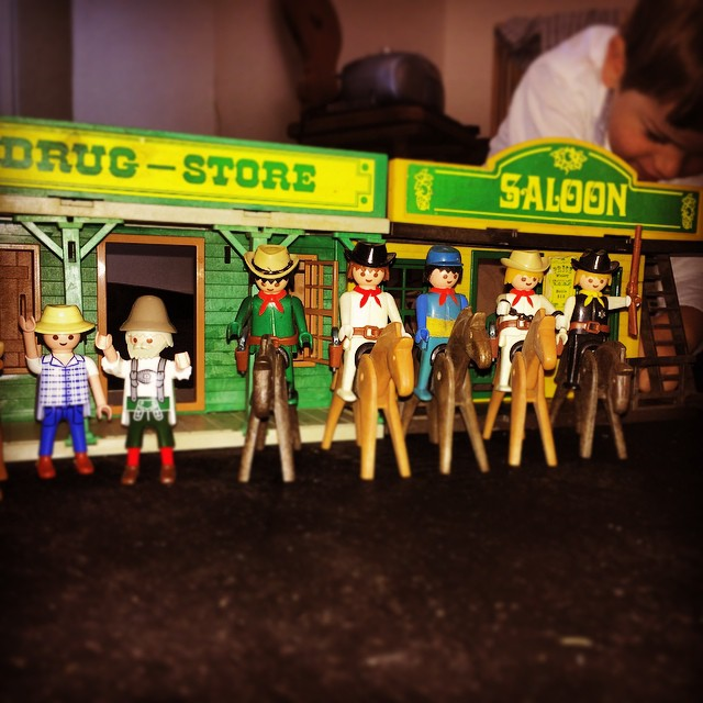 The Magnificent Seven - happily reunited after living 35 years in a box in the basement. (Ok: 5 of them)