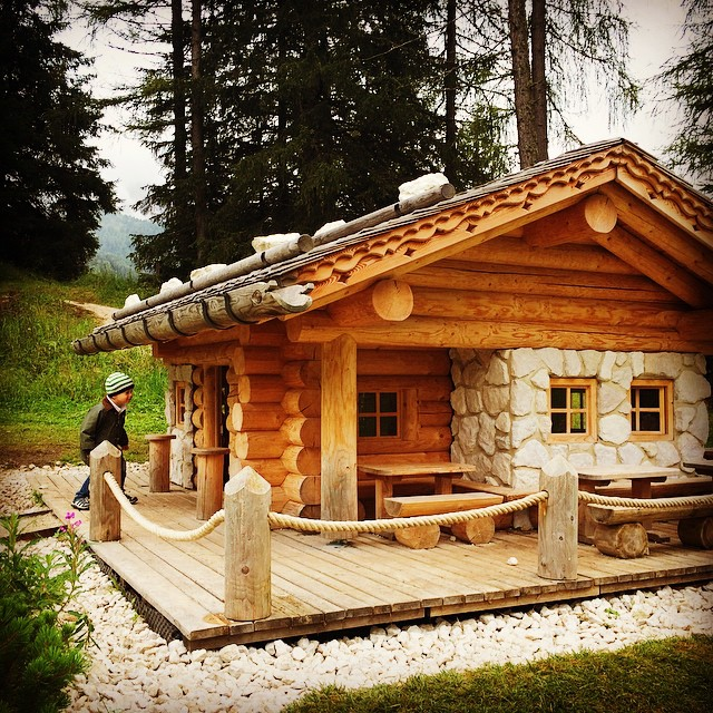 Honey, I shrinked the alpine cabin.